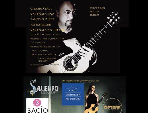 9. Internationale Gitarrentage – Vaihingen an der Enz