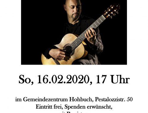 Solokonzert In Reutlingen